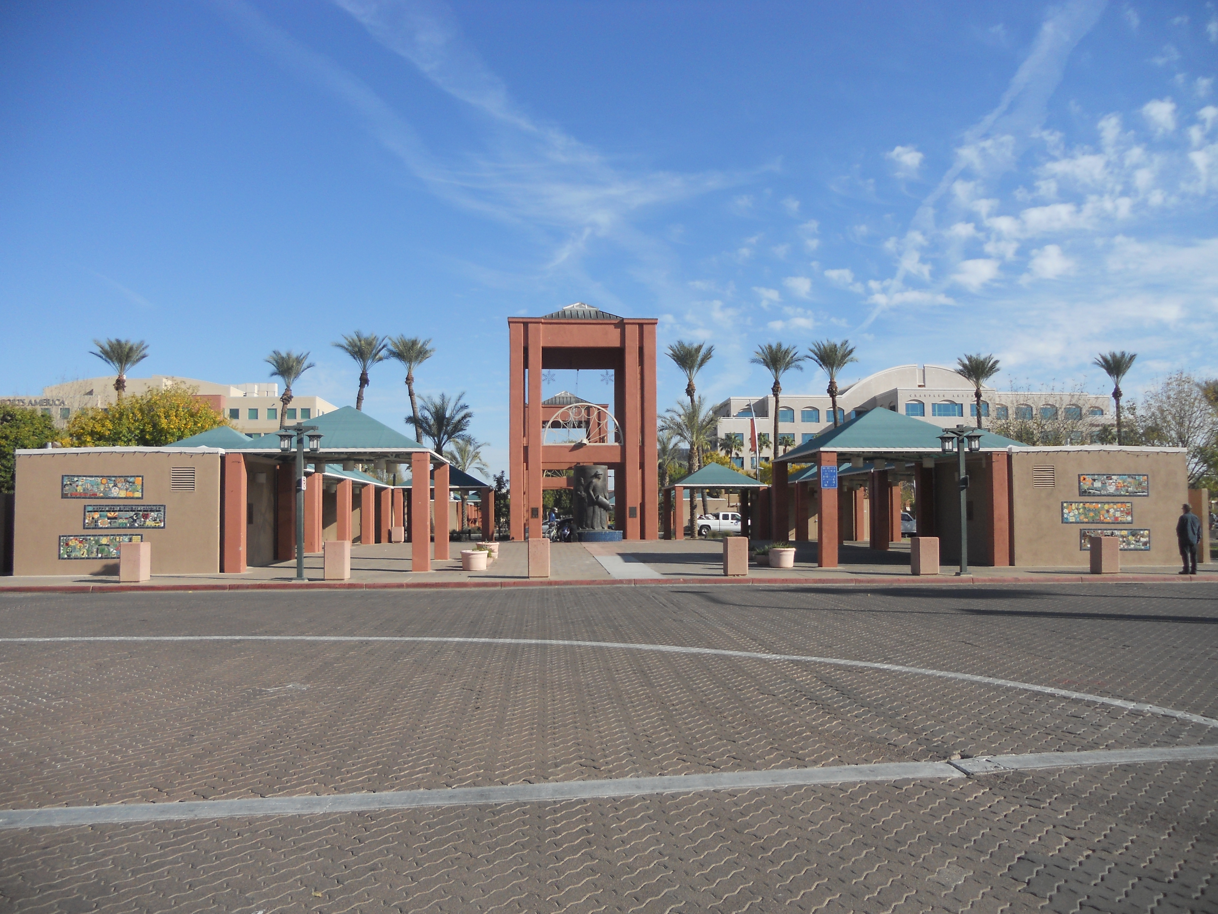 Six Murals completed in November 2011. in Downtown Chandler